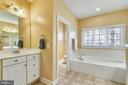 Owner's bathroom - 47642 MID SURREY SQ, STERLING