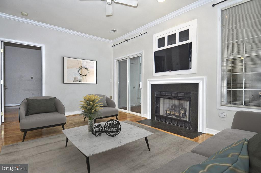 9' ceilings throughout - 2310 14TH ST N #205, ARLINGTON