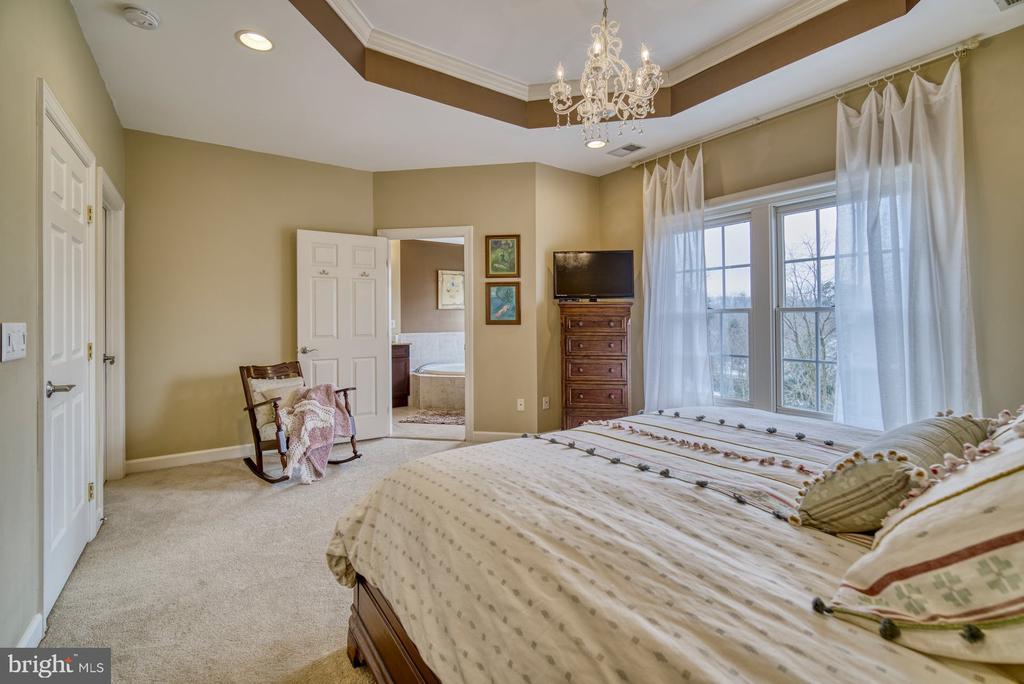 Master Bedroom has HUGE Walk-in Closet - 18541 BEAR CREEK TER, LEESBURG