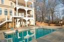 Picturesque Warm water pool - 10713 ROSEHAVEN ST, FAIRFAX