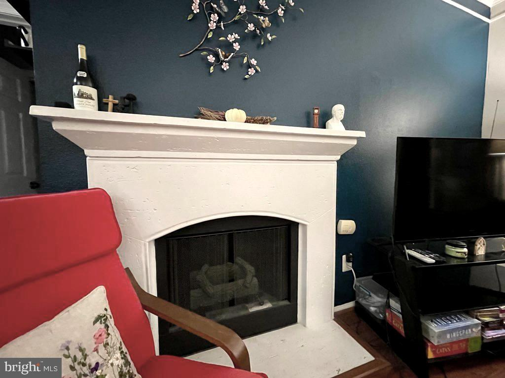 Gas Fireplace - 1581 SPRING GATE DR #5404, MCLEAN