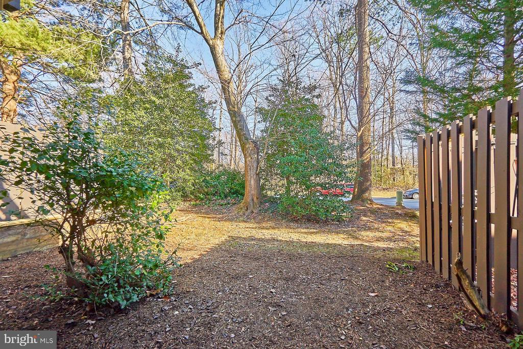 Rear yard - 11817 COOPERS CT, RESTON