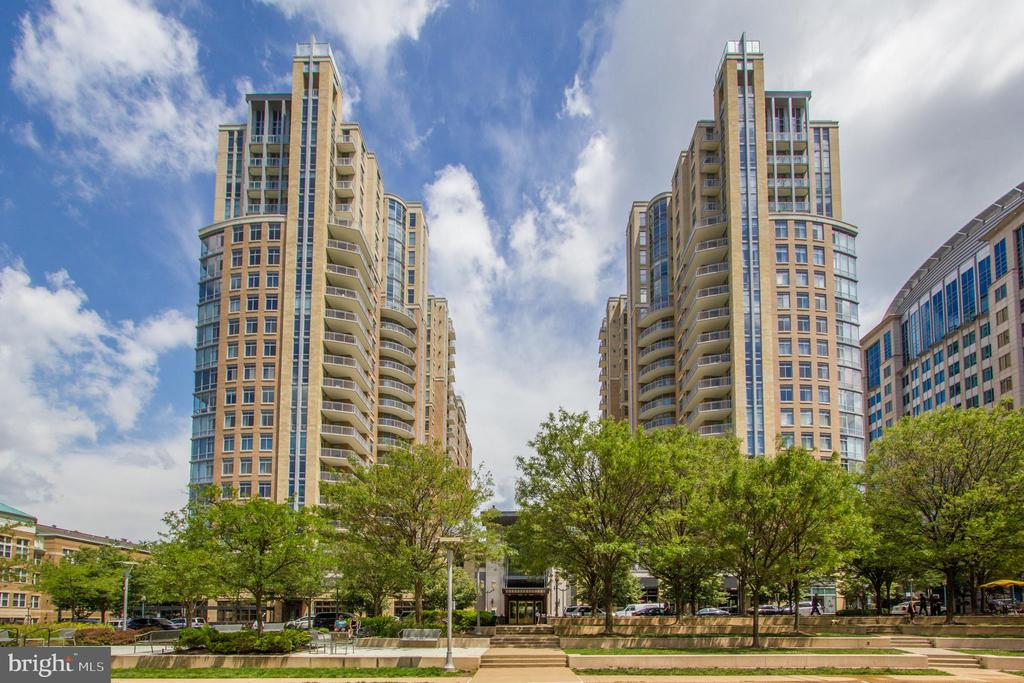 View of Buildings from RTC Park - 11990 MARKET ST #1301, RESTON