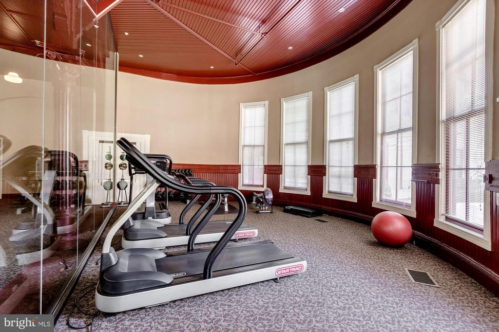 Workout Area - 9610 DEWITT DR #PH101, SILVER SPRING
