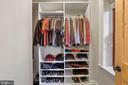 Third Bedroom Closet - 9610 DEWITT DR #PH101, SILVER SPRING