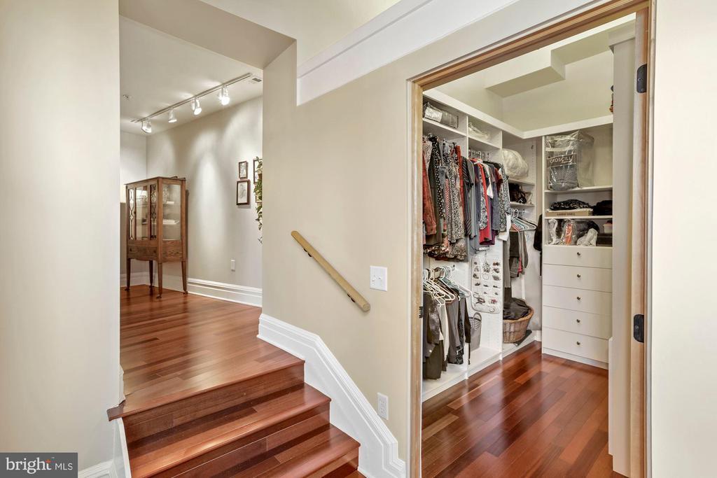Foyer to Master Closet - 9610 DEWITT DR #PH101, SILVER SPRING