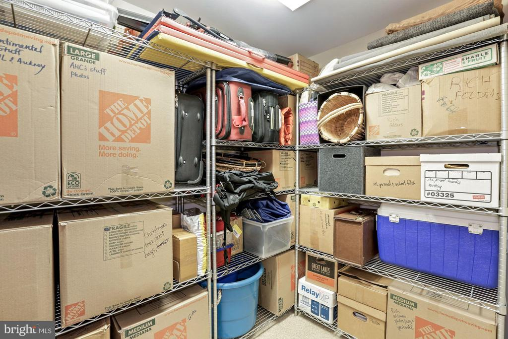 Second bedroom Closet Lower Level - 9610 DEWITT DR #PH101, SILVER SPRING