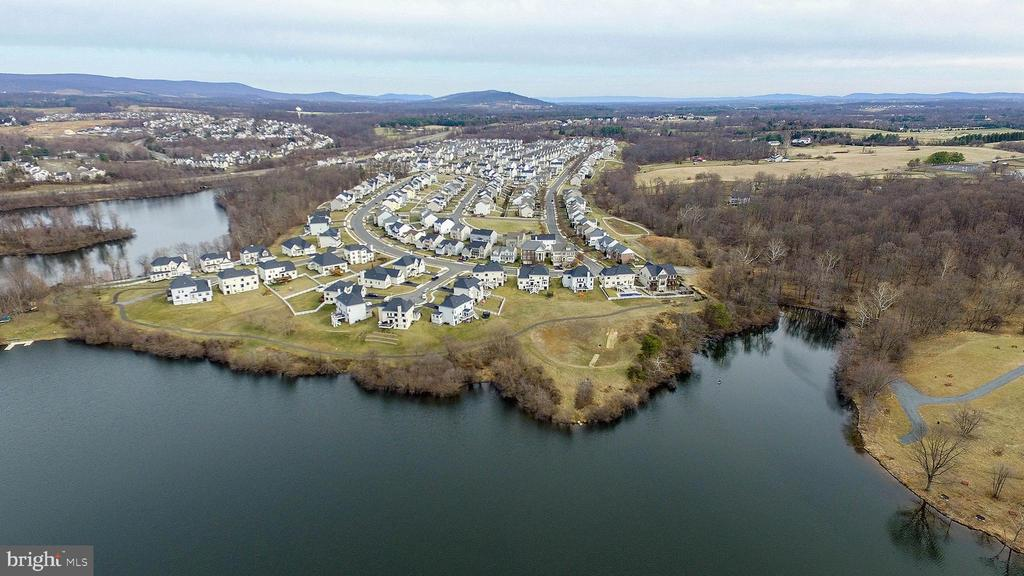 Lake is 2 blocks away.  Woods to the right. - 17652 TEDLER CIR, ROUND HILL