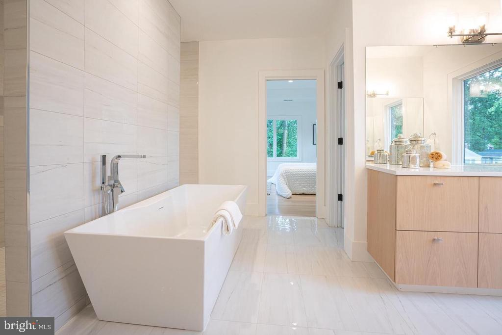 imagine soaking in this tub - 110 TAPAWINGO RD SW, VIENNA