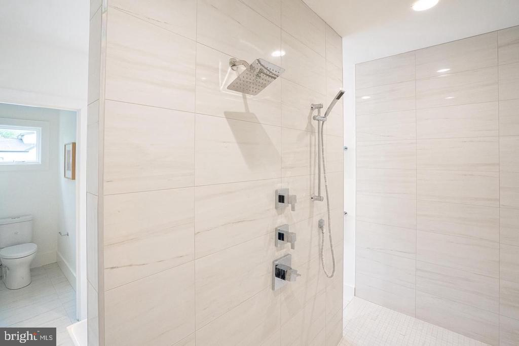 Chrome shower controls - 110 TAPAWINGO RD SW, VIENNA