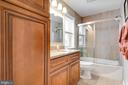 remodeled upper level bathroom - 10702 STONEYHILL DR, SILVER SPRING