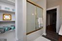 2nd Level full bathroom - 611 CAROLINE ST, FREDERICKSBURG