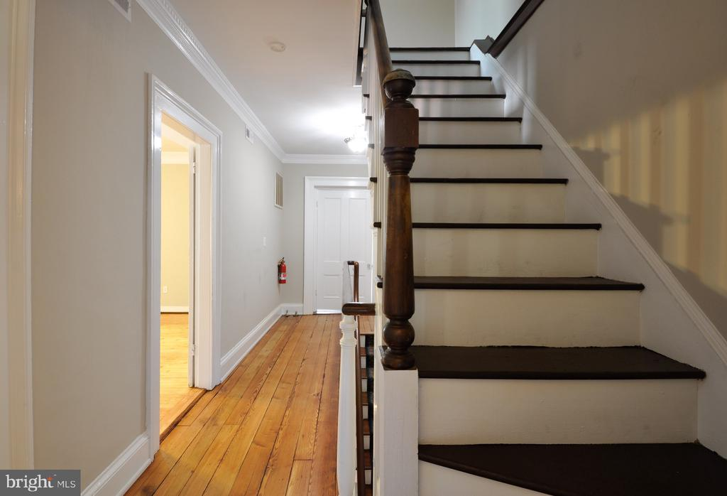 Stairs to attic bedroom - 611 CAROLINE ST, FREDERICKSBURG