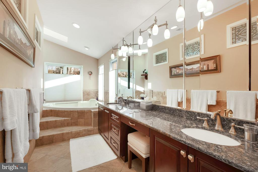 Primary bathroom with heated floors - 5707 ROSSMORE DR, BETHESDA