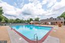 Pool on Surrey Hill Place - 8110-E COLONY POINT RD #218, SPRINGFIELD