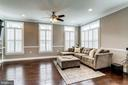 Light filled living room - 4349 4TH ST N, ARLINGTON