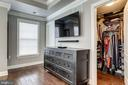 Owner's suite with two walk in closets - 4349 4TH ST N, ARLINGTON