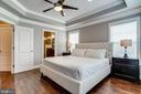 Large owner's suite with hardwood floors - 4349 4TH ST N, ARLINGTON