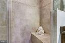 Oversized shower with bench - 4349 4TH ST N, ARLINGTON