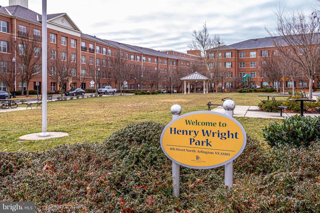 Adjacent Henry Wright park - 4349 4TH ST N, ARLINGTON