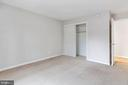 Closet in Bedroom - 8110-E COLONY POINT RD #218, SPRINGFIELD