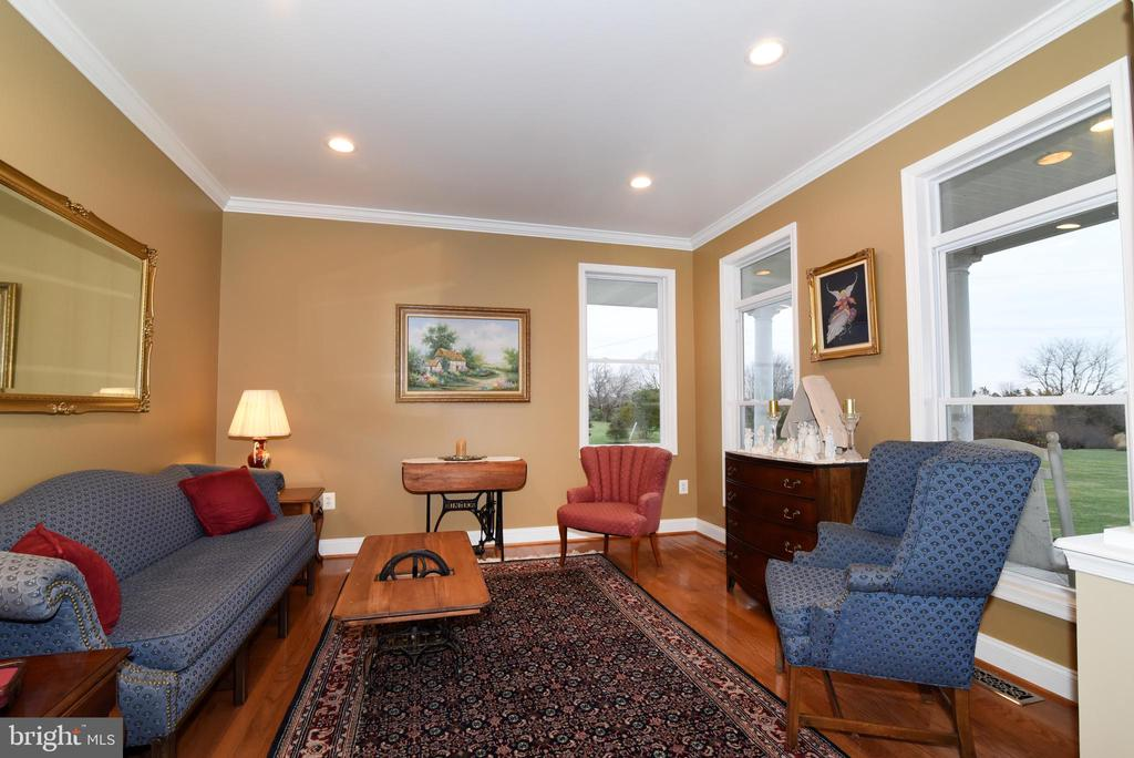 Bright formal living room - 42070 SADDLEBROOK PL, LEESBURG