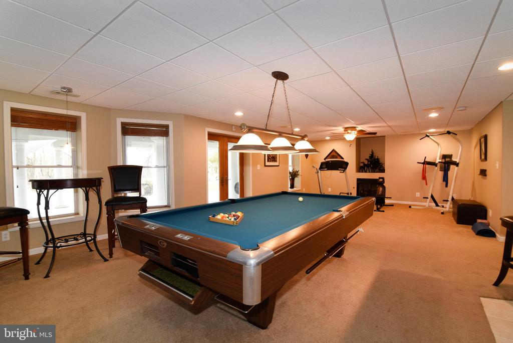 Lower level rec room - 42070 SADDLEBROOK PL, LEESBURG