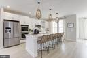Kitchen - 17713 LONGSPUR COVE LN, DUMFRIES