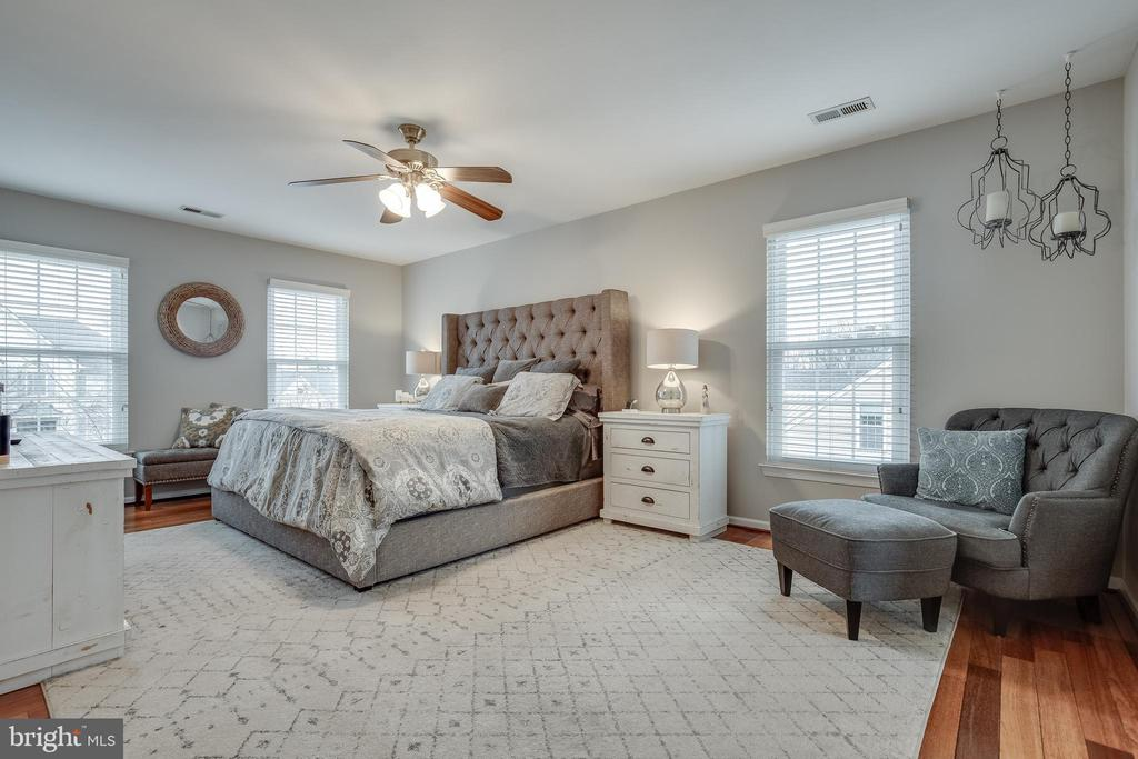 Primary Suite with Ceiling Fan - 43216 LINDSAY MARIE DR, ASHBURN