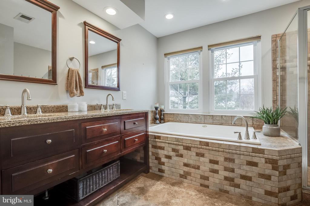 Luxury Primary Bathroom - 43216 LINDSAY MARIE DR, ASHBURN