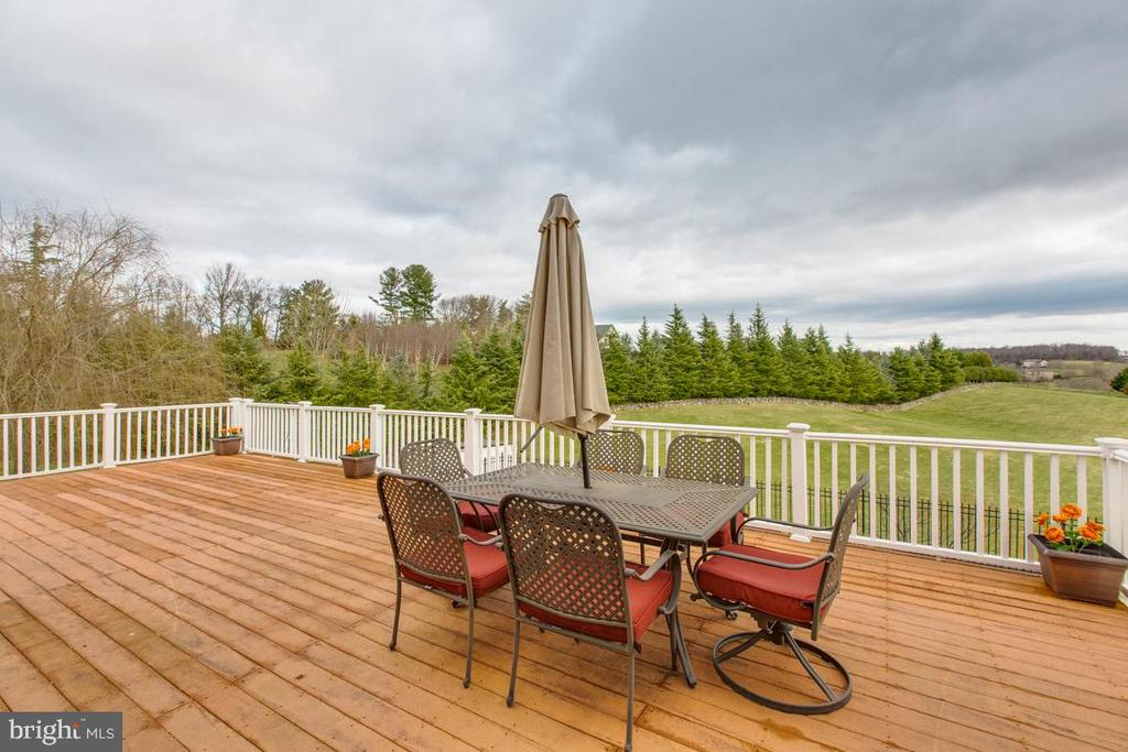 Extra view of entertainers trex deck - 41205 CANONGATE DR, LEESBURG