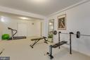 Alt view of exercise room - 41205 CANONGATE DR, LEESBURG