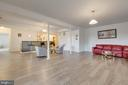 Alt view of recreation room with beautiful bar - 41205 CANONGATE DR, LEESBURG