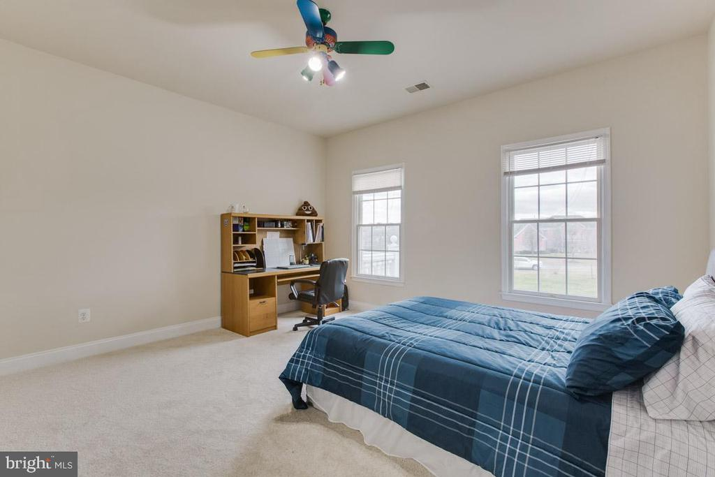 Bedroom #2 with gorgeous views! - 41205 CANONGATE DR, LEESBURG