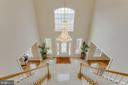 Gorgeous  double staircase with open floor plan - 41205 CANONGATE DR, LEESBURG