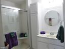 Master bath - 20577 SNOWSHOE SQ #301, ASHBURN