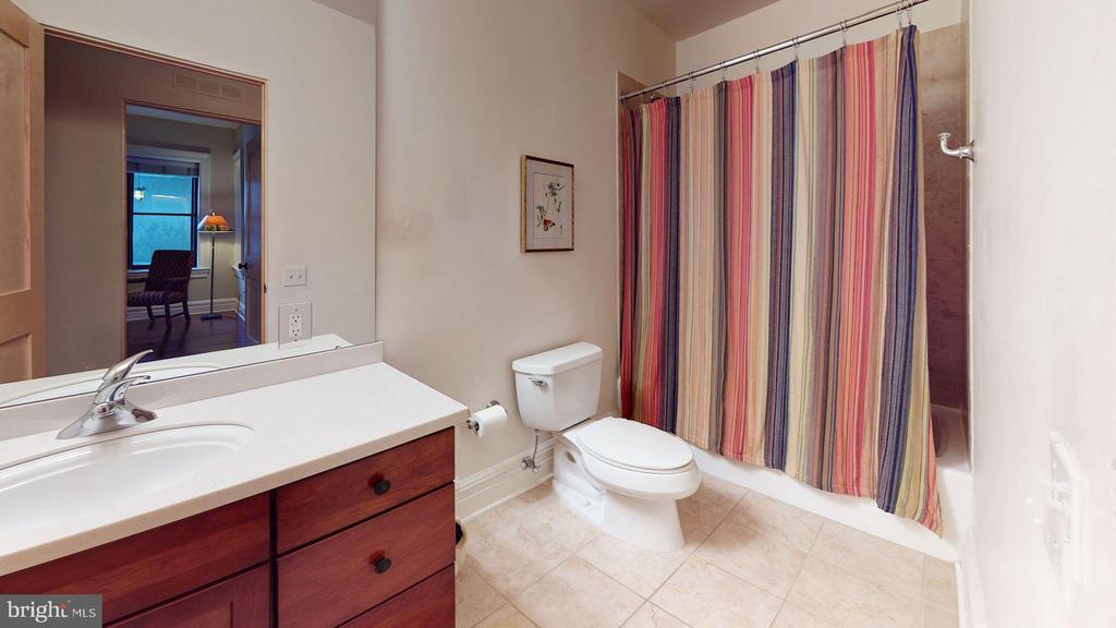 Hallway Bath - 9610 DEWITT DR #PH101, SILVER SPRING