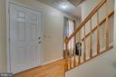 Front foyer - 6109 SUNNY MEADOWS DR, FREDERICKSBURG