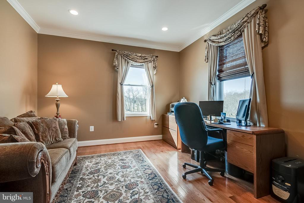 Main level bedroom or office - 42070 SADDLEBROOK PL, LEESBURG