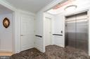 Direct Elevator Access from Lobby or Garage - 1555 N COLONIAL TER #100, ARLINGTON