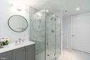 Frameless 2 Sided Glass Shower Enclosure - 1555 N COLONIAL TER #100, ARLINGTON