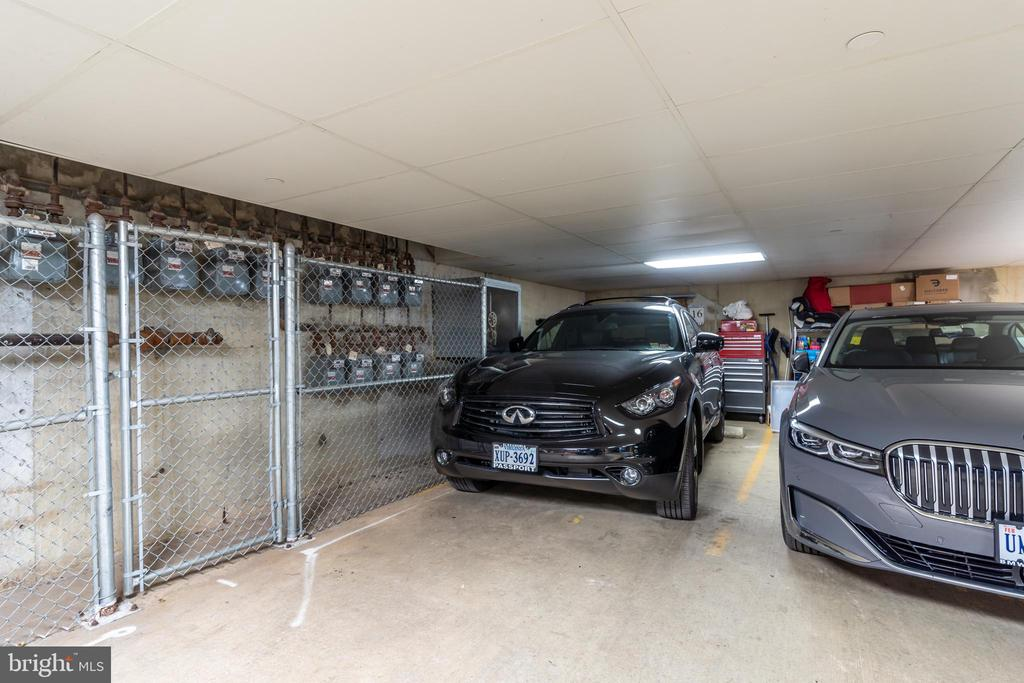 Dedicated and Secure Garage Parking Space - 1555 N COLONIAL TER #100, ARLINGTON