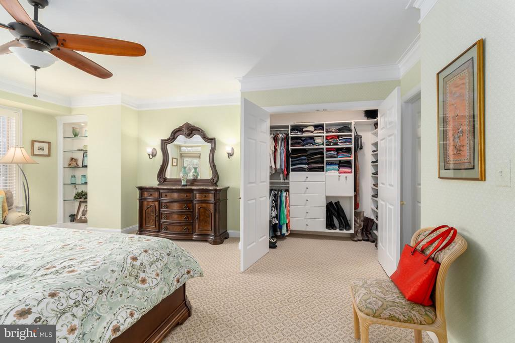 2 Walk In Closets/Built-Ins and Custom Bookcase - 1555 N COLONIAL TER #100, ARLINGTON