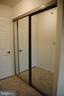 large closet for 2nd bedroom - 19385 CYPRESS RIDGE TER #1103, LEESBURG