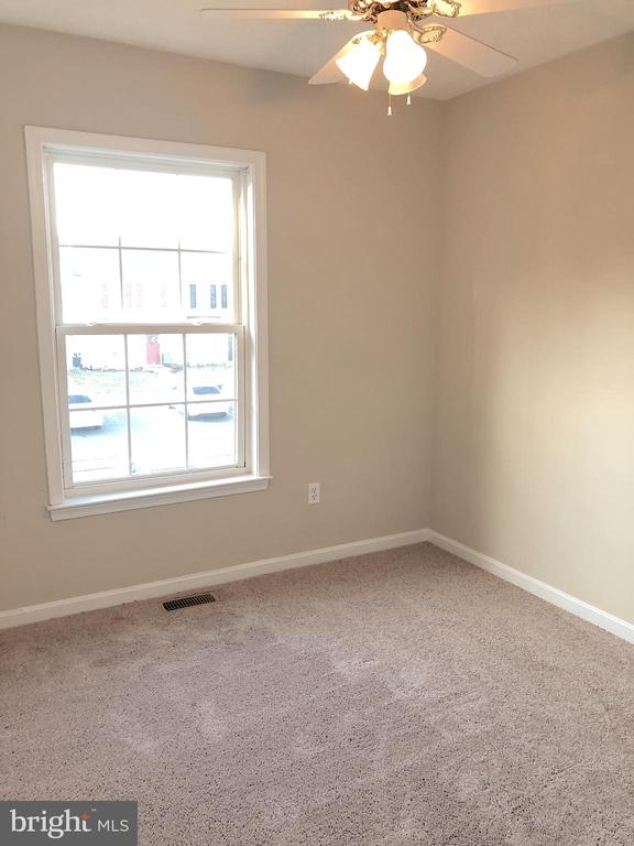 Bedroom 2 - new carpet, fan - 10503 GUILDERLAND CT, FREDERICKSBURG