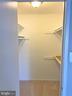 Walk-In Closet in Master Bedroom - 11053 CAMFIELD CT #101, MANASSAS