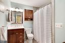 Second bathroom - Fully renovated! - 10171 YORKTOWN WAY, GREAT FALLS