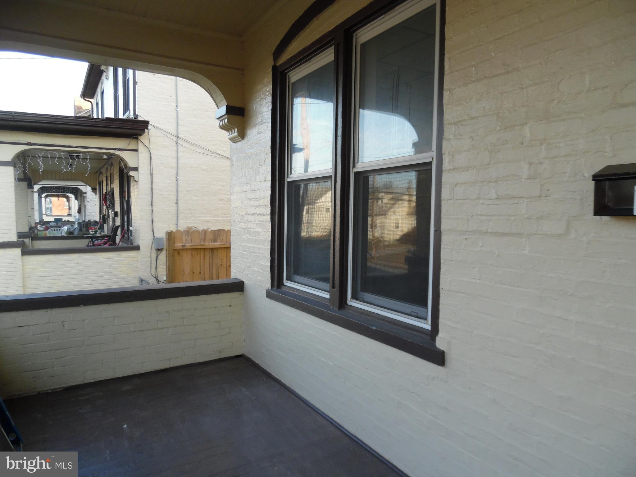 Enjoy the spacious front porch