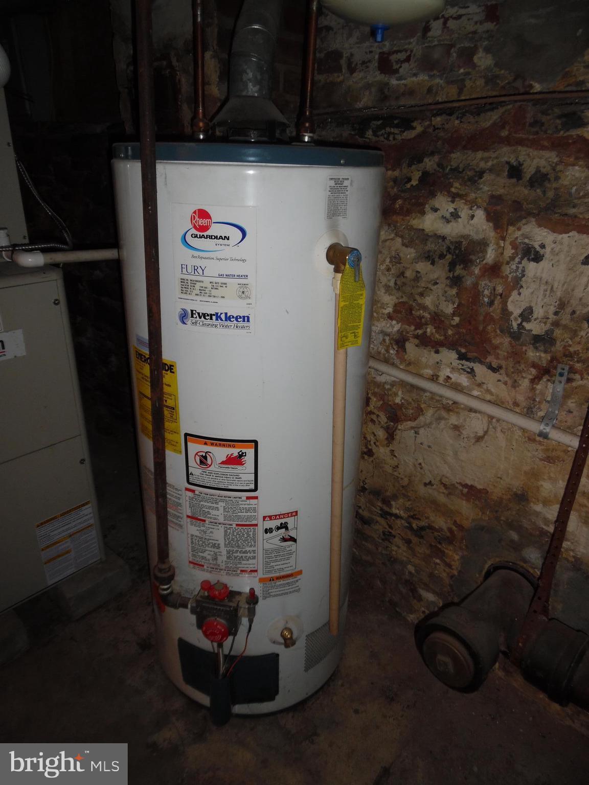 Newer Gas Hot Water  Heater