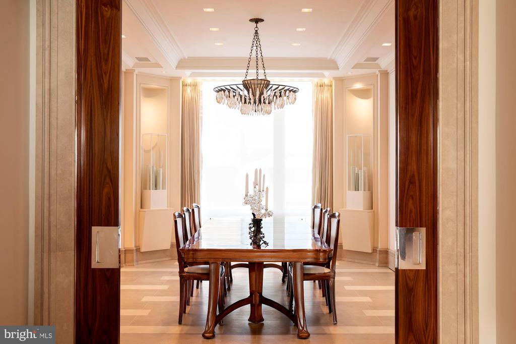 Gracious Dining Room - 3150 SOUTH ST NW #PH2C & 1M, WASHINGTON